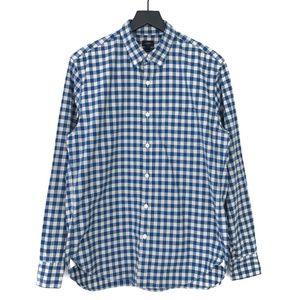 J.Crew Button Front Gingham L/S Shirt #97